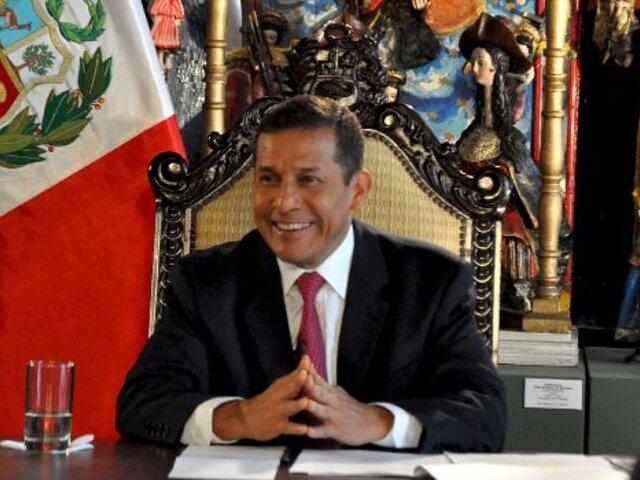 Ollanta Humala viajará a Japón para afianzar relaciones comerciales