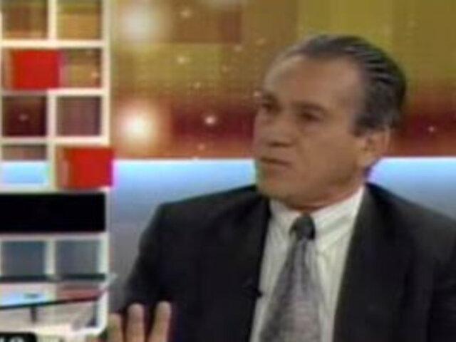 Alfredo Crespo asume defensa del terrorista 'Artemio'