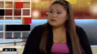 Clarisa Delgado: Hago responsable de lo que me pase a Abencia Meza
