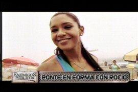 Ponte en forma con la modelo y deportista Rocio Miranda