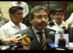 Ministro de Justicia: No he sido notificado sobre extradición a Morales Bermúdez