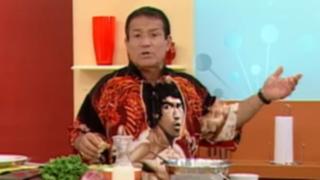 """Miguel Barraza en la cocina de """"Entre Tú y Yo"""""""