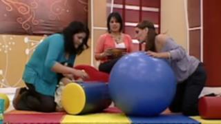 Ayuda a tu bebé con estos ejercicios de equilibrio