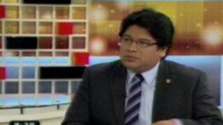 Congresista Espinoza: Sutep perjudica solo a los escolares con paralización