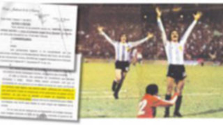 El 6-0 de Argentina a Perú en el mundial de 1978 fue parte del Plan Cóndor