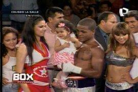"""La """"Pantera"""" Zegarra venció y ahora va por el título latinoamericano"""
