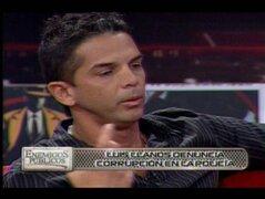 Luis Miguel Llanos denuncia a instructor de la Policía por falsificación de atestado