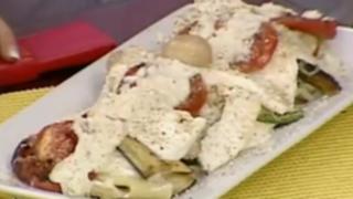 Prepara una deliciosa lasagna con vegetales
