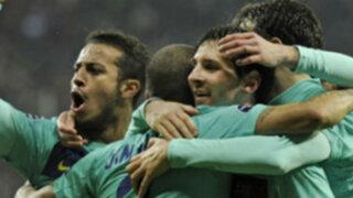 Champions League: Tras triunfos Barcelona y Lyon avanzan en competencia