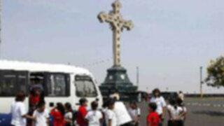 Vehículos turísticos pagarían peaje para subir al cerro San Cristóbal