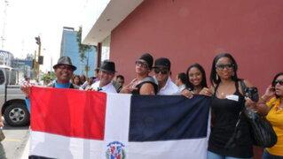 Casting de programa concurso convocó a decenas de peruanos y extranjeros