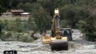 Intensas lluvias y deslizamientos continúan generando graves daños al interior del país