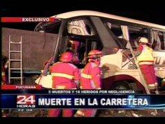 Pucusana: irresponsable chofer de trailer que causó tragedía saldría libre