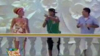 Neymar cantó  en vivo 'Ai se eu te pego' durante carnaval de Salvador