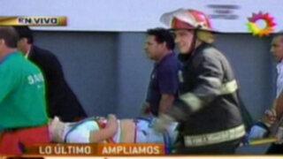 Argentina: descarrilamiento de tren Sarmiento deja unos 250 heridos