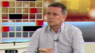Jaime Salinas: Plan de medios solo busca levantar imagen de Villarán