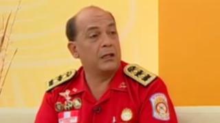 Contraloría suspendió a oficial general de los bomberos, Mario Casaretto