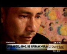 Hermano de Pedro Mamanchura demandará al Estado peruano