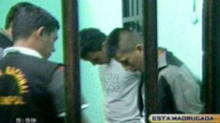 Peligrosas bandas de asaltantes son capturadas en Chorrillos y VES