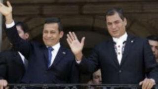 Rafael Correa: Mi chofer se parece al presidente Ollanta Humala