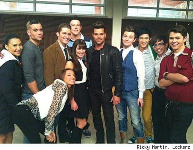 Ricky Martin debutará mañana como sexi profesor español en Glee