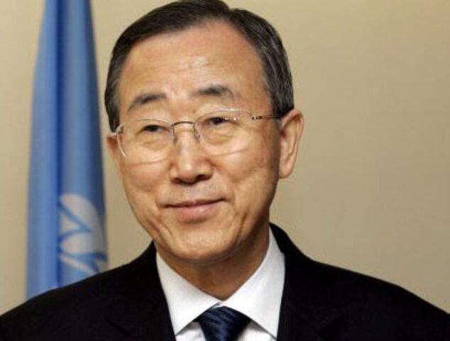 Ban Ki-moon pidió evitar la escalada de tensión entre Argentina y Londres