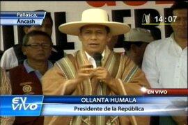 Ollanta Humala: En Gana Perú hay presión, pero no es una agencia de empleos