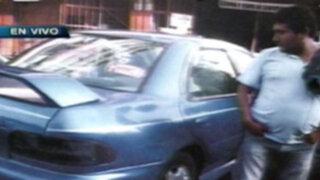 Policía fuga tras atropellar y dejar dos heridos de gravedad en el Rímac