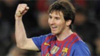 Messi se consagra en la historia de Barcelona