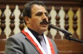 Expulsan al congresista Jorge Rimarachín del partido Nacionalista