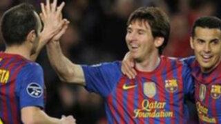"""Un viejo continente se rindió ante Messi y un """"Lio"""" de cinco"""