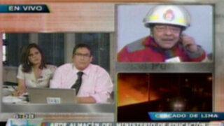 Incendio en almacén del Ministerio de Educación habría sido provocado