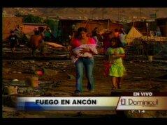 Ancón: siniestro arrasó dos poblados y dejó en la calle a más de mil habitantes
