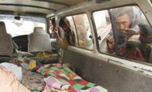 Talibanes juran venganza por muerte de afganos a manos de un soldado de EEUU