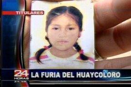 Chosica: tras búsqueda intensa familiares creen que niña fue tragada por río