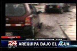 Arequipa: colapsa el sistema de redes y alcantarillado en varias ciudades