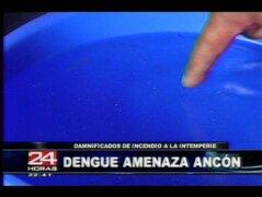 Ancón: población en alerta por amenaza de Dengue tras incendio