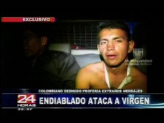 Detienen a colombiano que iba robar imagen de la Virgen de Fátima