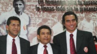 Héctor Chumpitaz reforzó a la 'U' en pichanguita con la Trinchera Norte