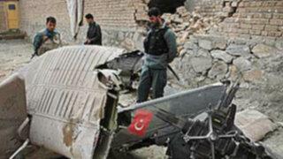 Helicóptero de la OTAN se estrella en Afganistán y deja 17 muertos