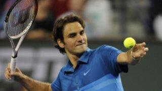 Federer se medirá con Roddick en Masters 1000 de Miami