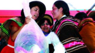 Arequipa: Nadine Heredia entrega donaciones a pueblos azotados por huaycos