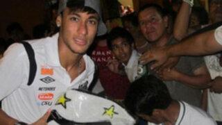 Reviva la euforia y locura que desató la llegada de Neymar a Chiclayo