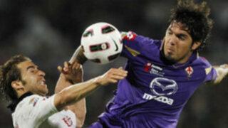 Con Juan Vargas en la cancha Fiorentina fue goleado 5-0 por el Juventus