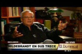 César Hildebrandt: Humala fue elegido por la izquierda y gobierna con la derecha
