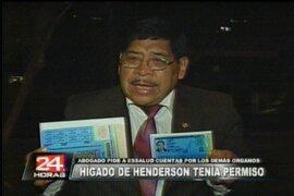 Acusan a exconductor Jorge Henderson de recibir riñón de manera ilegal