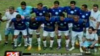 Sporting Cristal vuelve a lucir camiseta azul y lidera Descentralizado