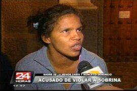 Sujeto es acusado de violar a su sobrina en el Cercado de Lima