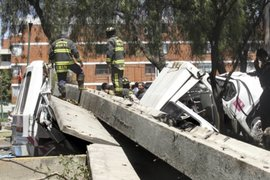 Más de 500 viviendas afectadas y siete heridos deja sismo en México