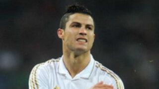 Cristiano Ronaldo perdió la cabeza por una rubia durante entrenamiento